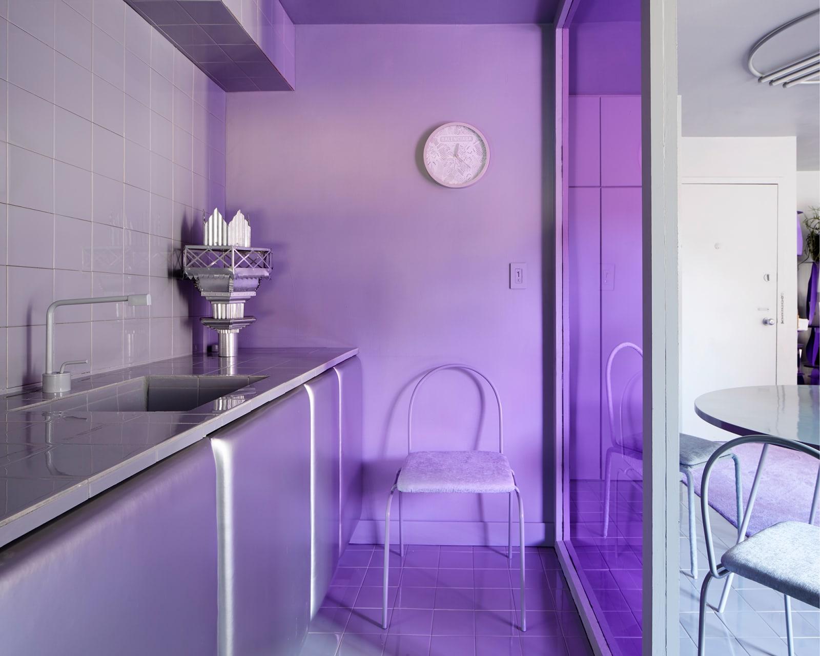 Harry Nuriev Nolita Apartment Küche