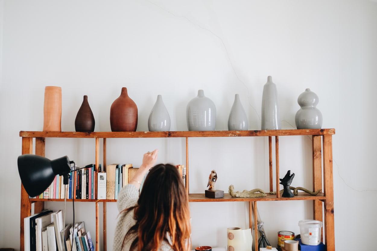 Iris Roth, Künstlerin, Wohnung, Mailand, Keramikkunst