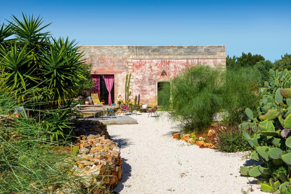 Von der Sonne geküsst: eine Oase in Apulien