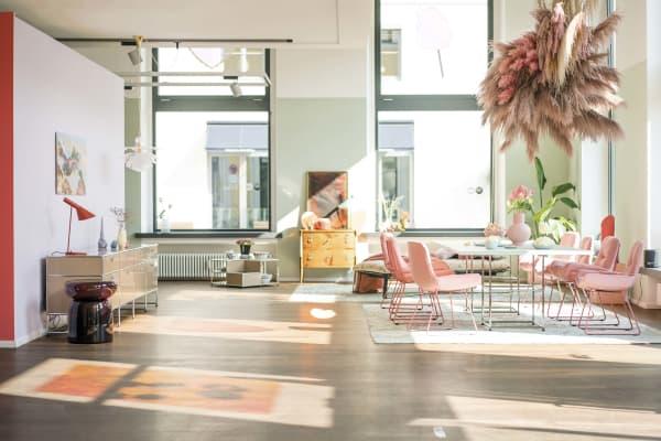 400 Quadratmeter Schaufläche: Das SoLebIch-Apartment ist in diesem Jahr zu Gast bei USM.