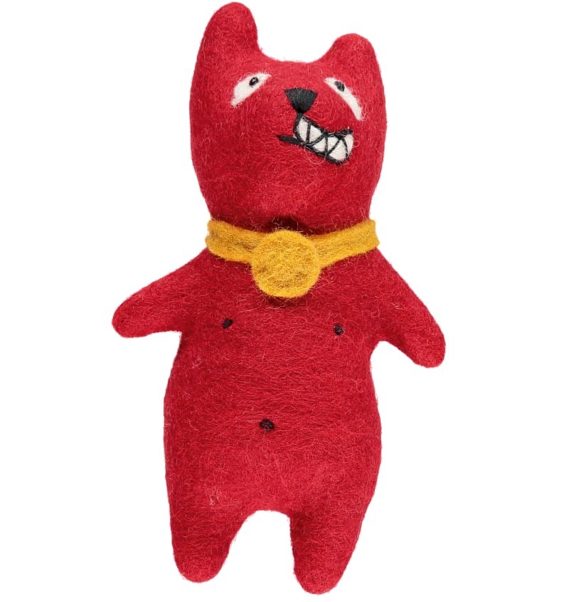 "4. Grayson Perrys Teddy ""Red Alan"""