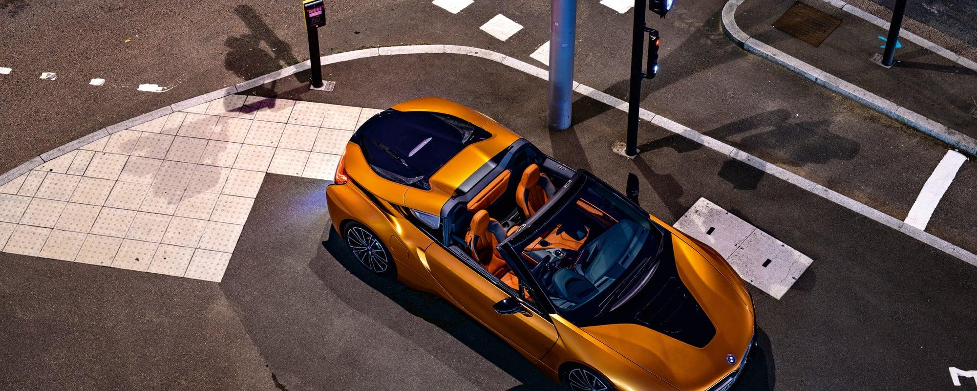 BMW i8 Roadster, BMW, Moritz Waldemeyers, Auto, Probefahrt