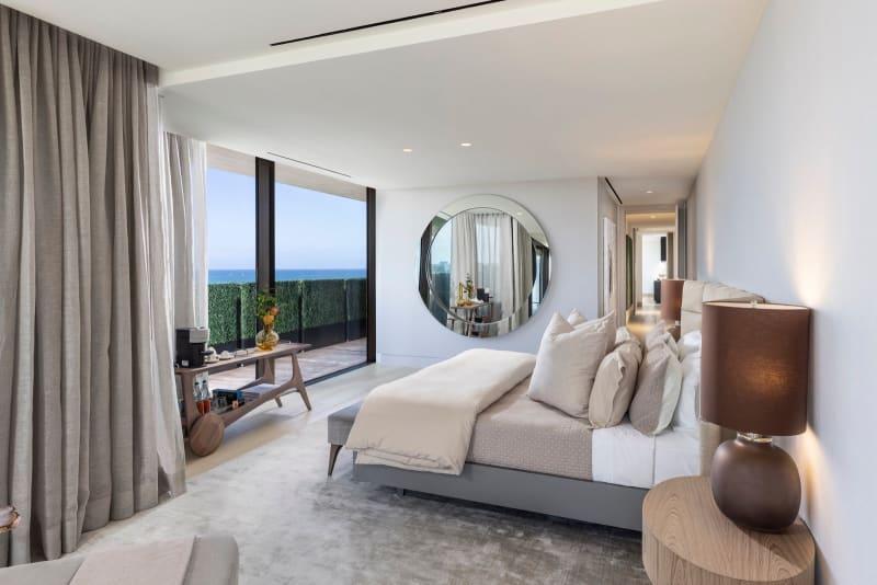 Miami Beach Penthouse Schlafzimmer