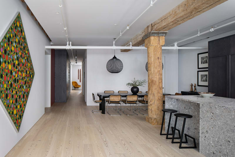 umbau in new york loft in chelsea von worrell yeung  ad