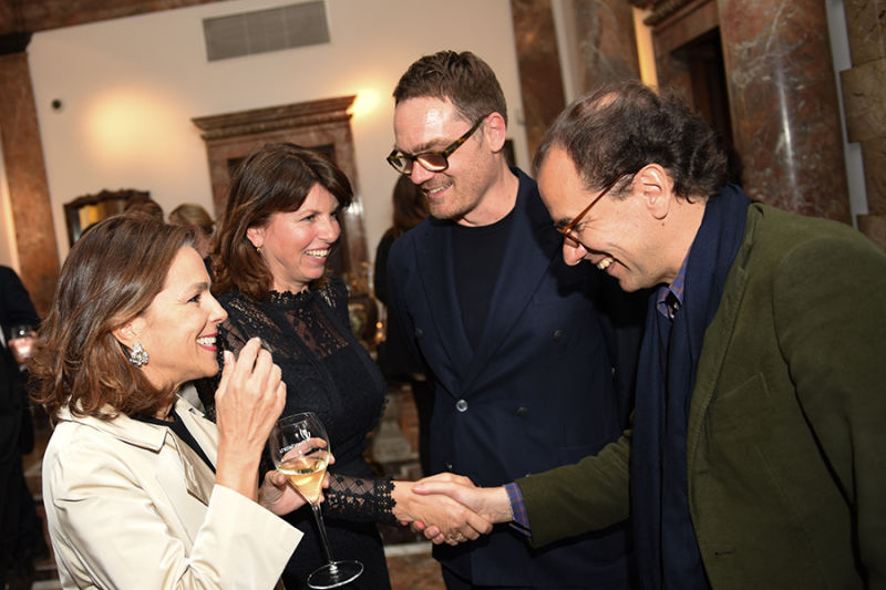Simone Ricart, Sabine Bollack, Oliver Jahn und Roberto Peregalli.