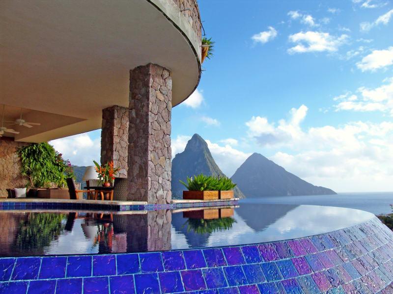 """6. St. Lucia, """"Jade Mountain"""""""