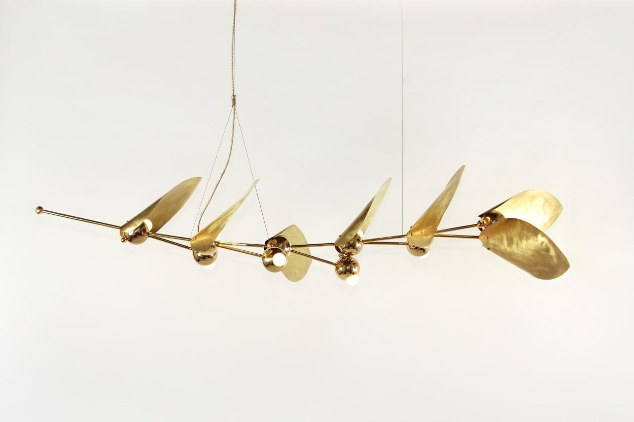 Rosie Li, chandelier