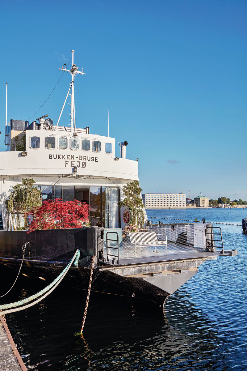 Hausboot Bjarke Ingels