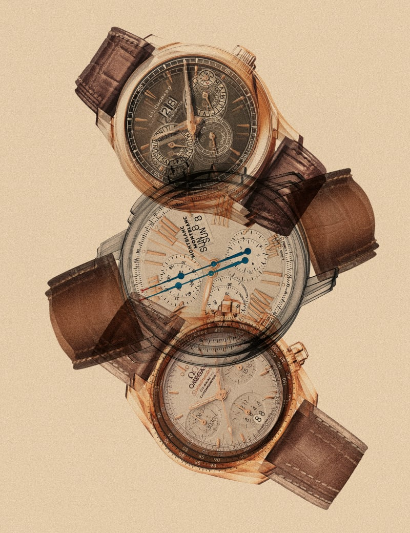Goldbraun Uhren