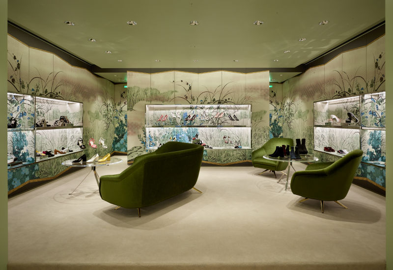 Graphic Rooms Prada