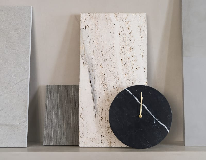 "6. ""Marble Wall Clock"" von Menu"