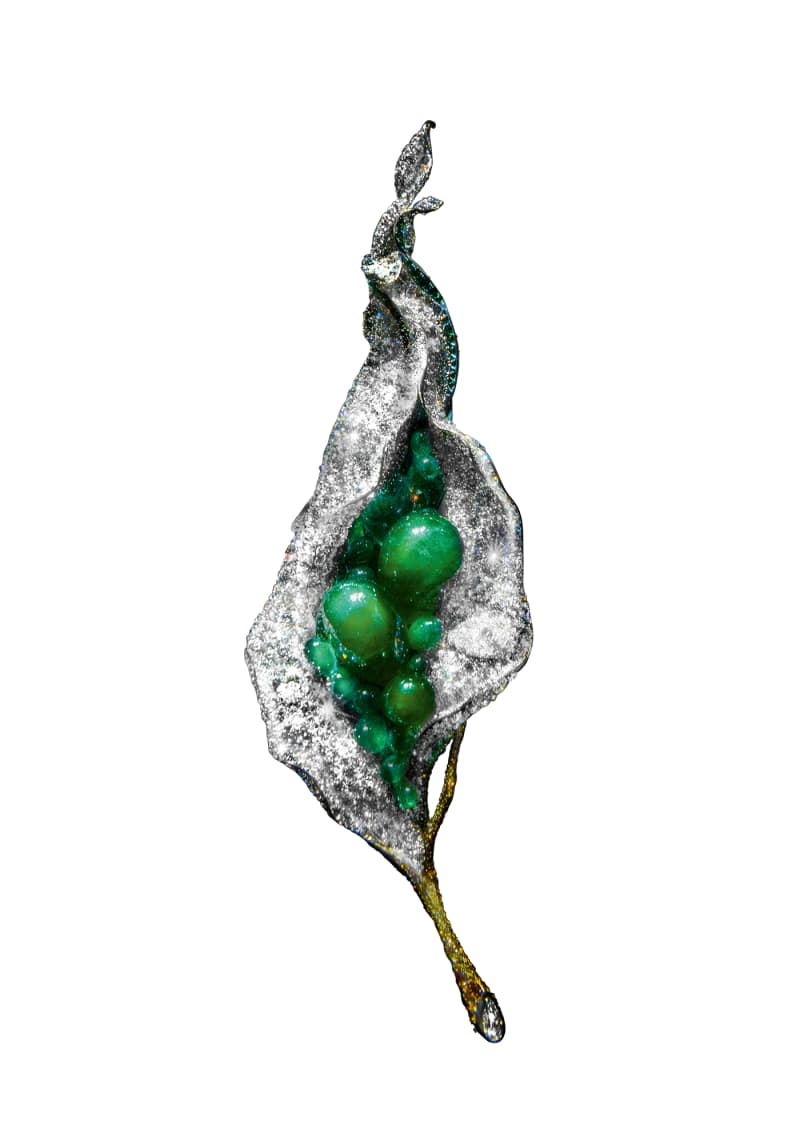 "Cindy Chao, ""Flower Bud Brooch"""