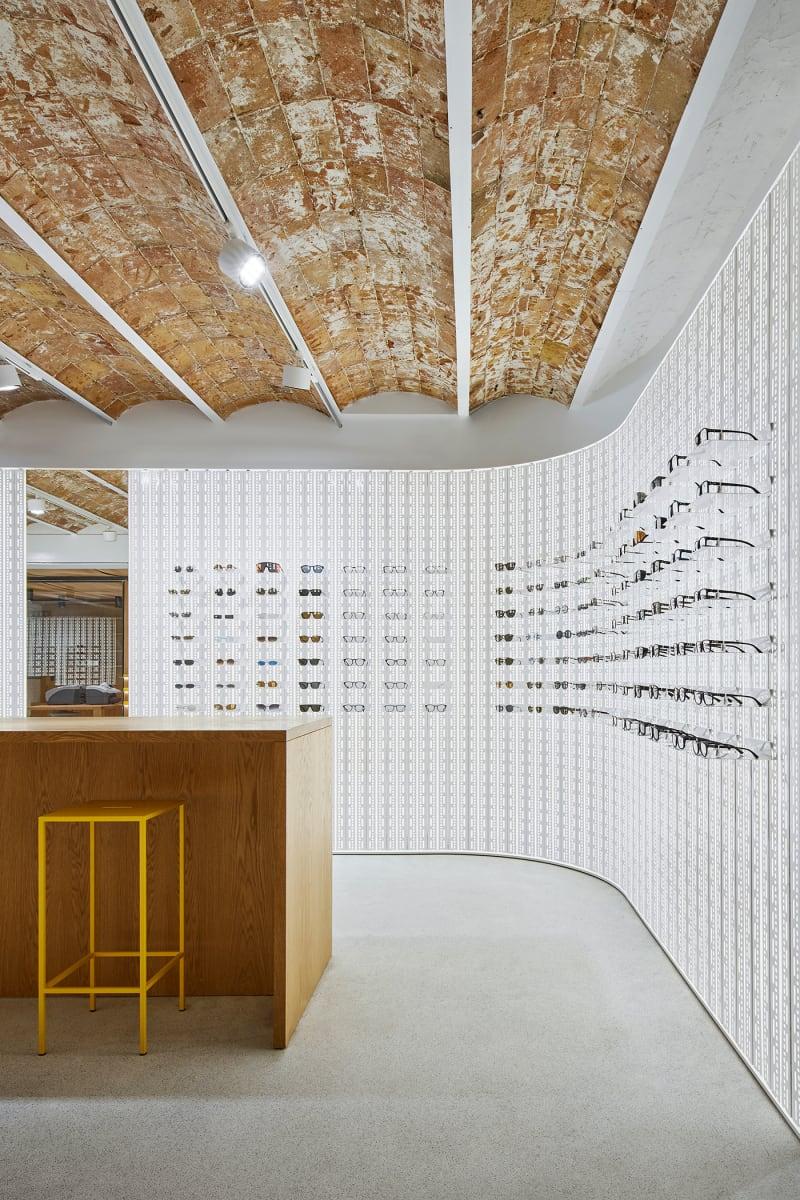 MYKITA Shop, Barcelona, Wall