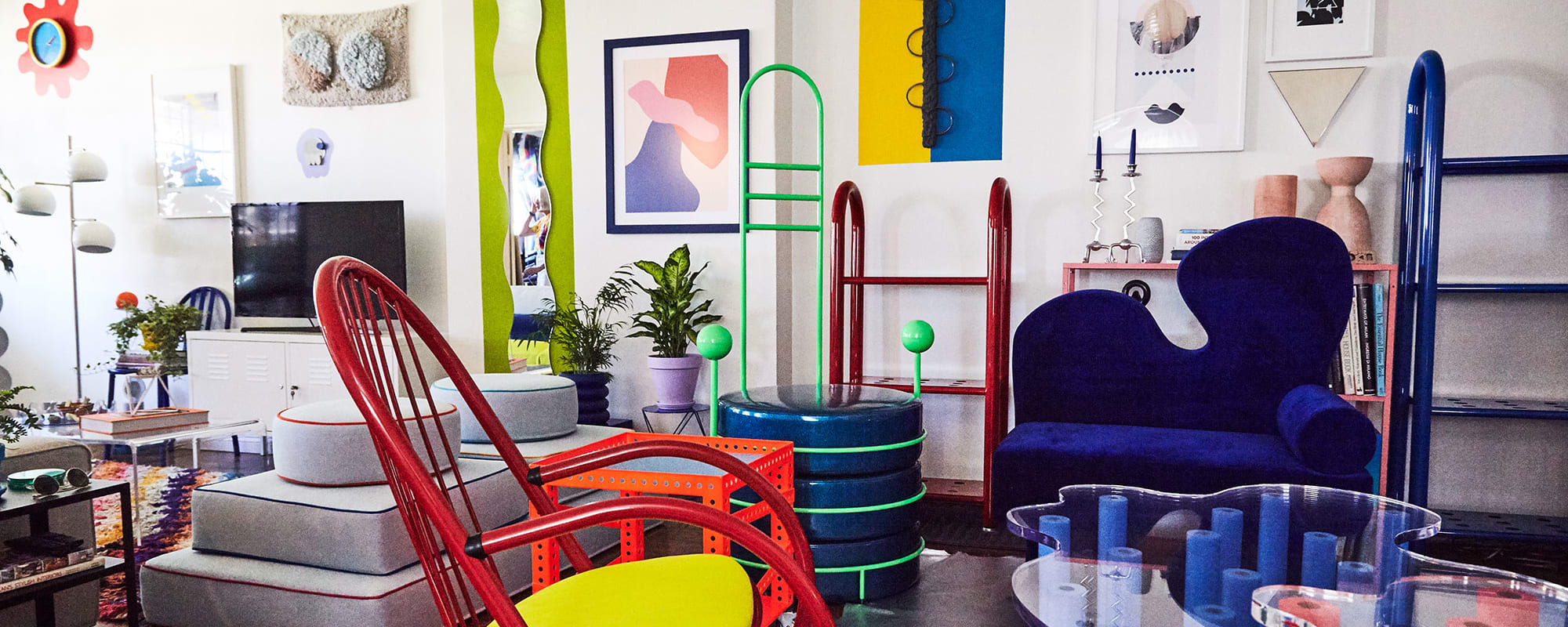 Leah Ring, Wohnung, Los Angeles, Design, Kunst