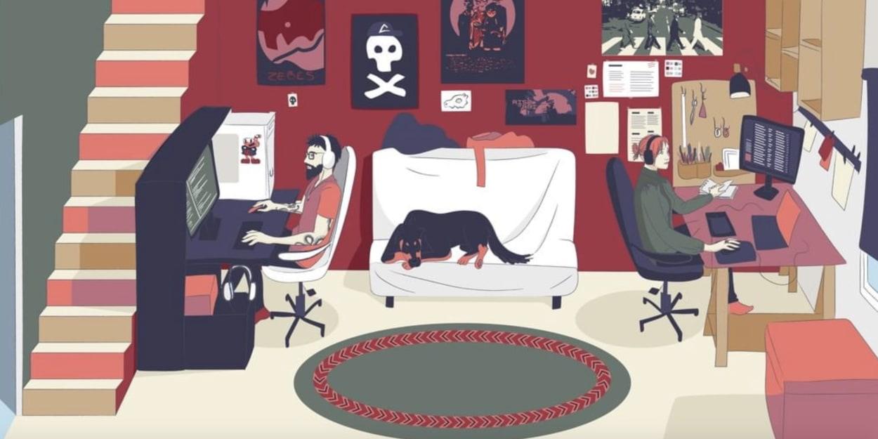 Illustration, Kunst, Traumhaus, coronamaison