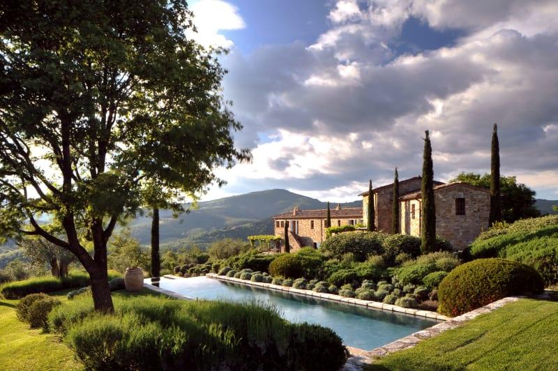 """1. Italien, """"Castello di Reschio"""""""