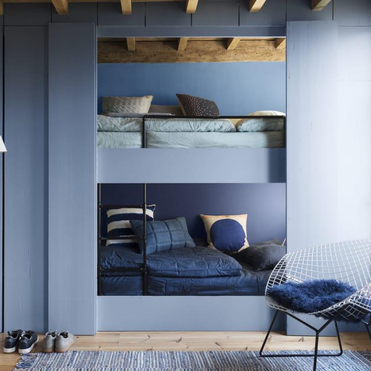 Preußischblau – Wandgestaltung - AD