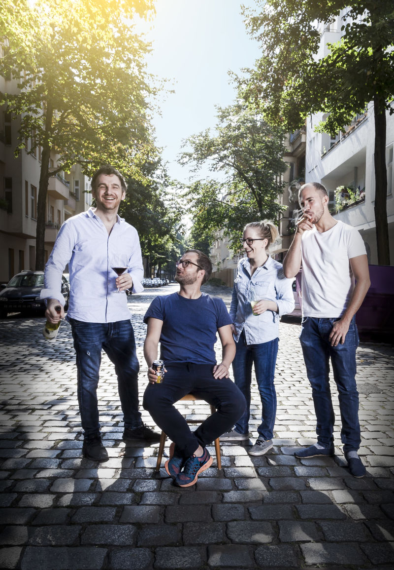 Dessert- Bar Coda Berlin Team