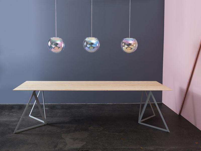 Sebastian Scherer Iris mit Tisch