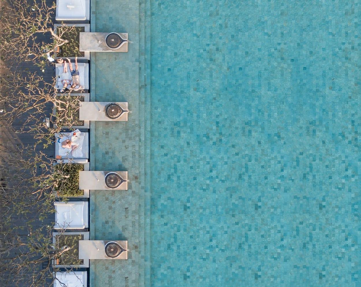 Brad Walls, Bradscanvas, Pools from above, Fotografie
