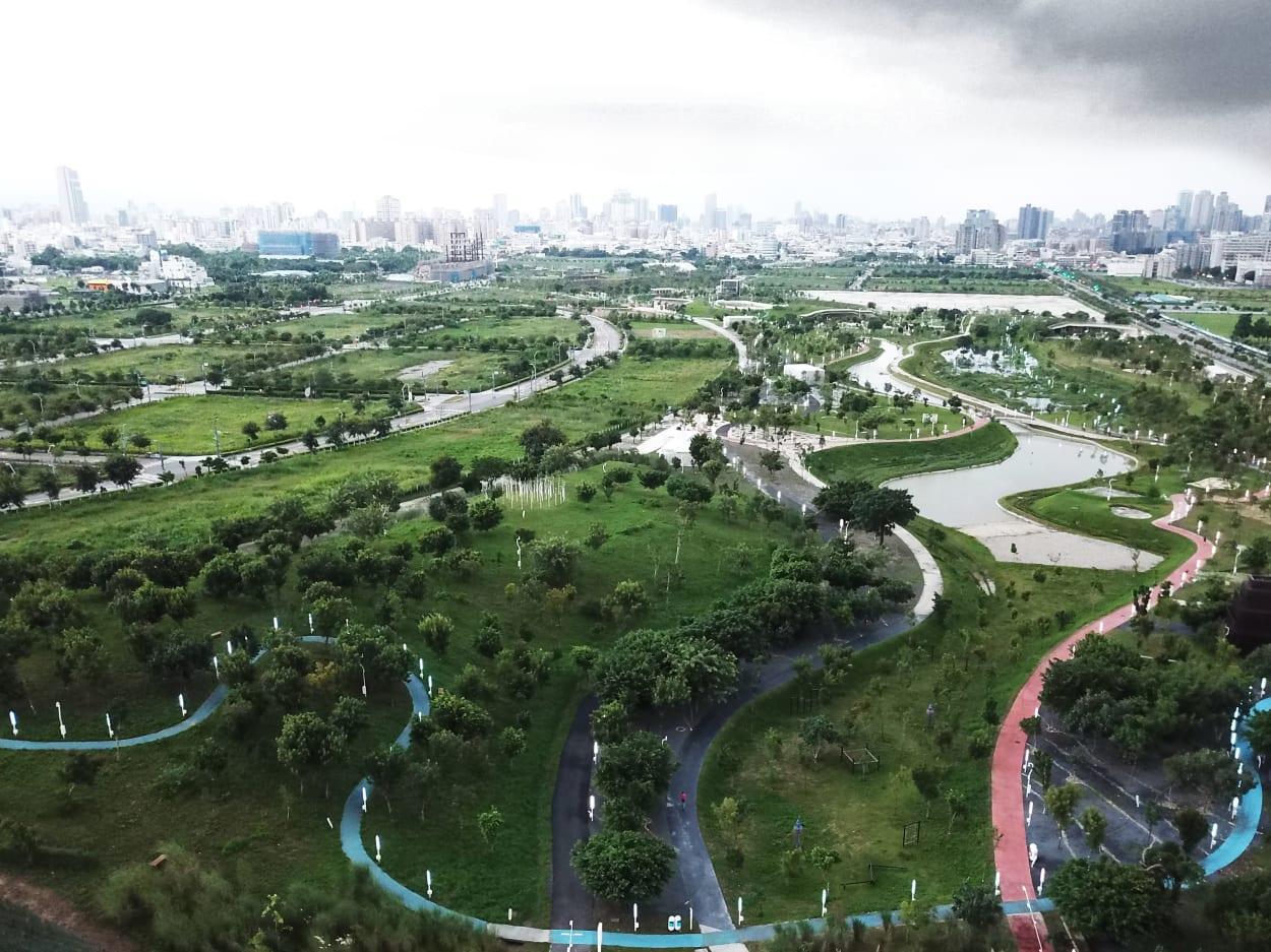 Ökologischer Städtebau, Taiwan, Flughafen, Park