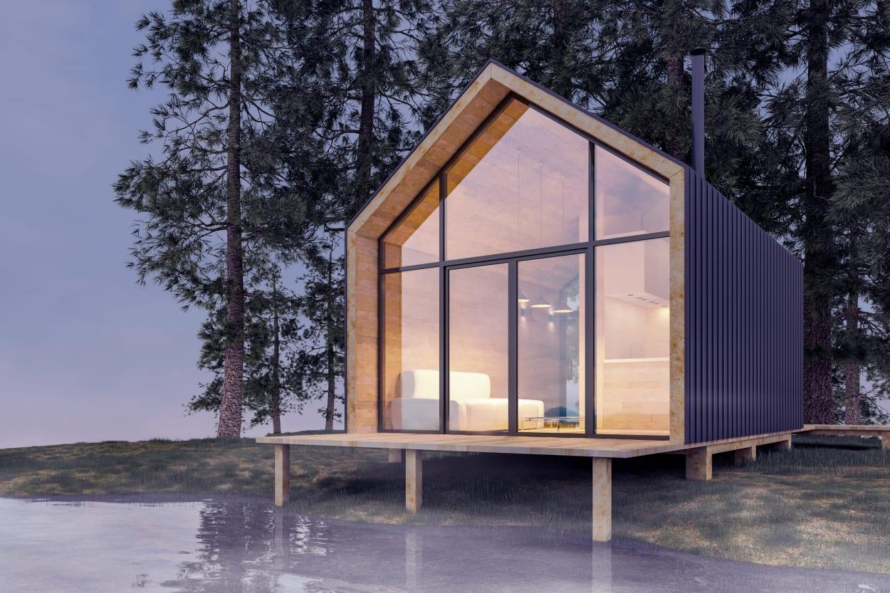 Tiny House, kleines Haus, kleine Wohnung, tiny house talk, tiny house auf rädern, kleines Holzhaus