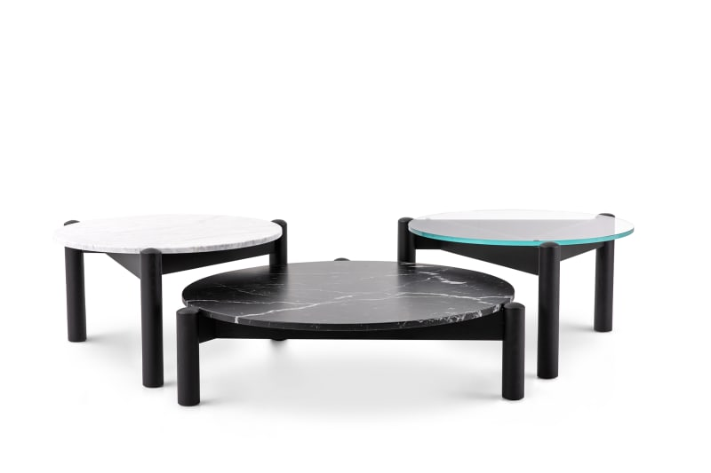 "4. Cassina, ""Table à plateau interchangeable"""