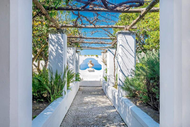 Inselvilla auf Capri, Italien