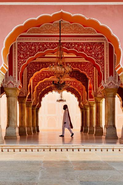 Der Palast wurde 1727 von Maharadscha Sawai Jai Singh II. erbaut.