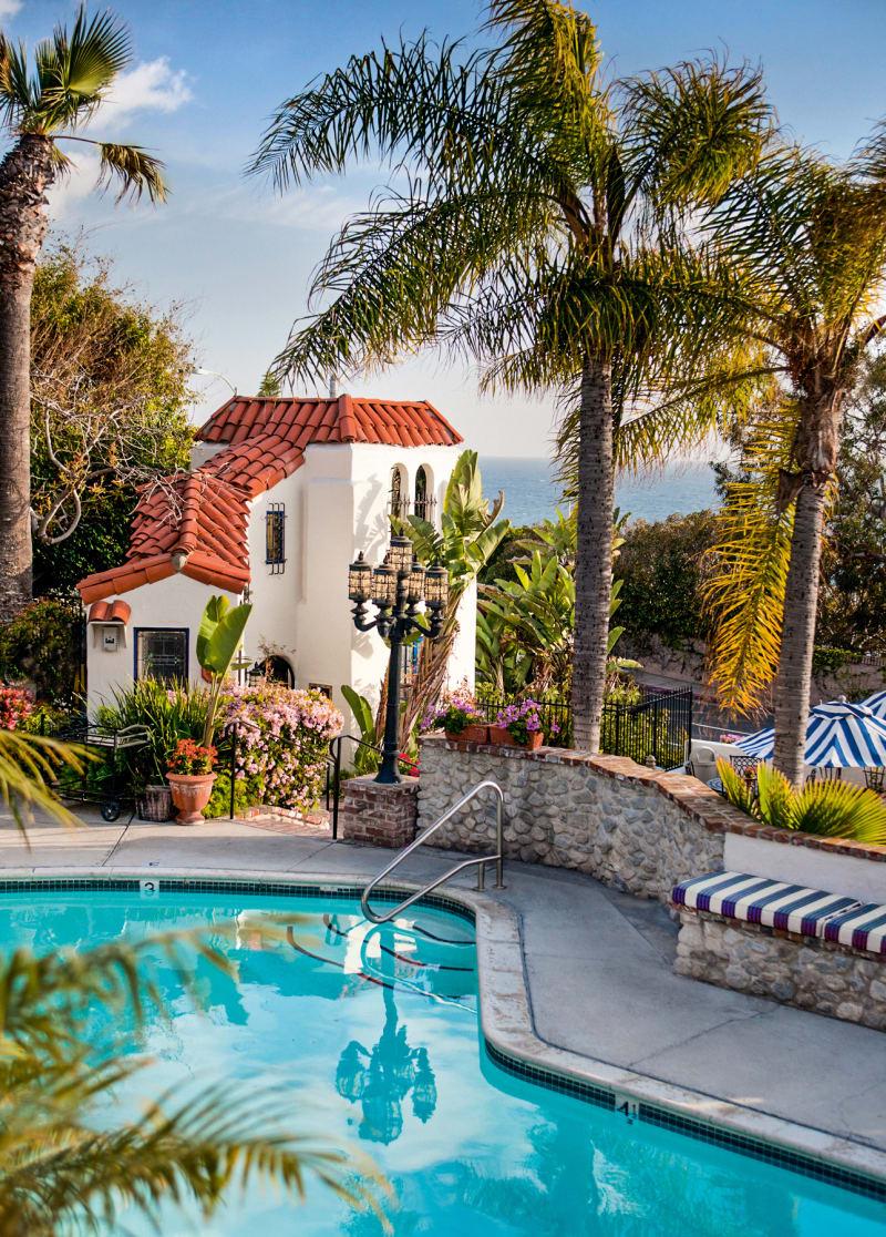 "Hotel ""Casa Laguna"", Kalifornien"