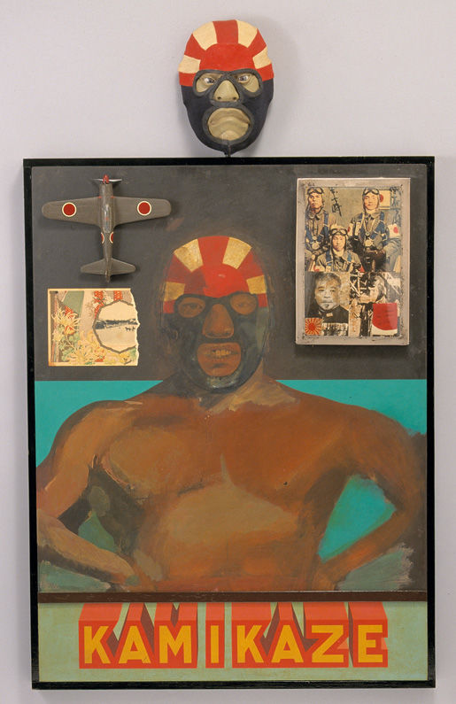 Peter Blake Kamikaze, 1965, National Museum of Wales © Peter Blake. All rights reserved, DACS 2014.