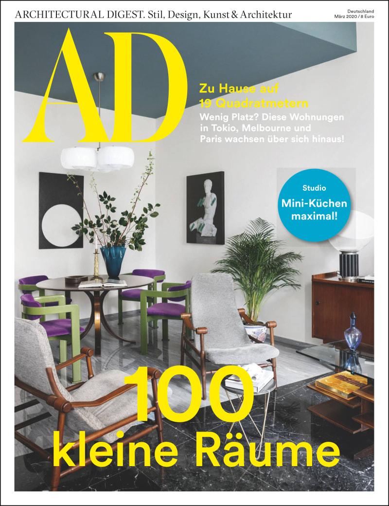 100 kleine Räume: die März-Ausgabe