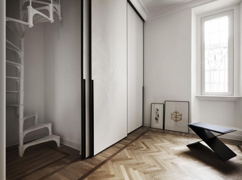 Quincoces-Dragò & Partners Rome Apartment Interior A