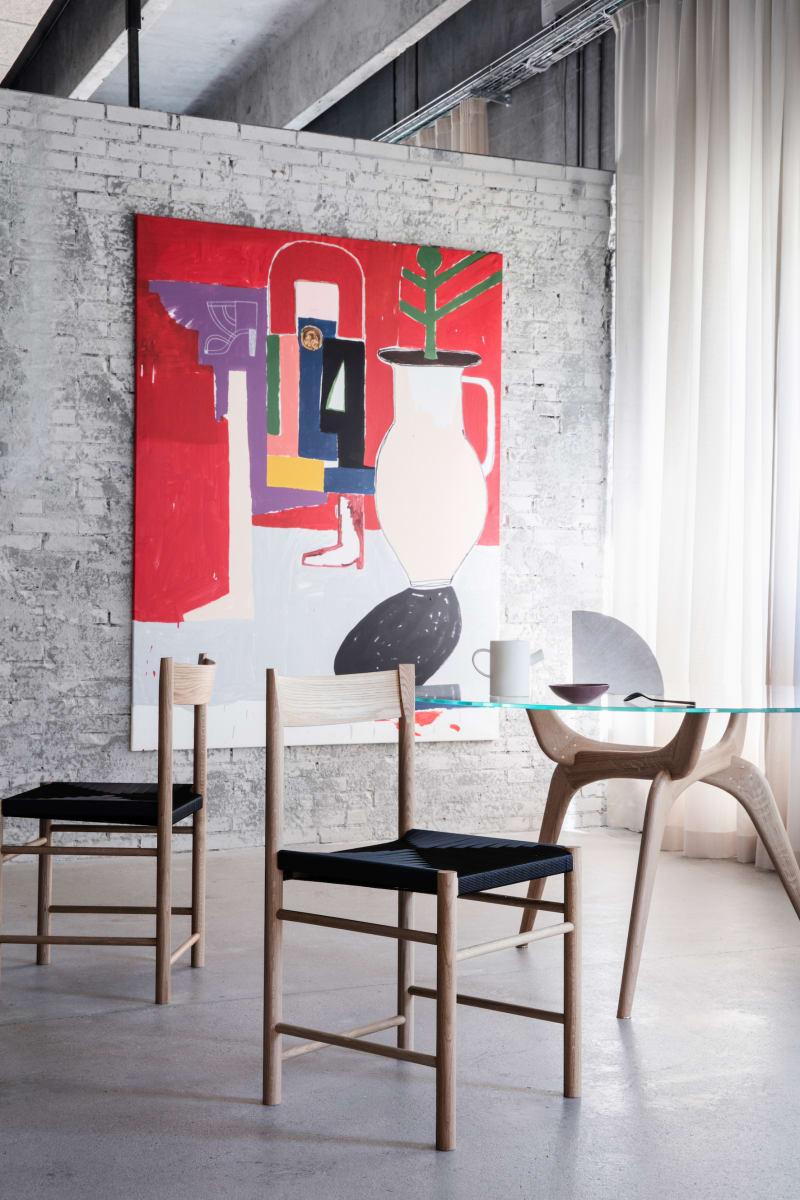 "2. Brdr. Krüger, ""F-Chair"" by Rasmus Bækkel Fex"