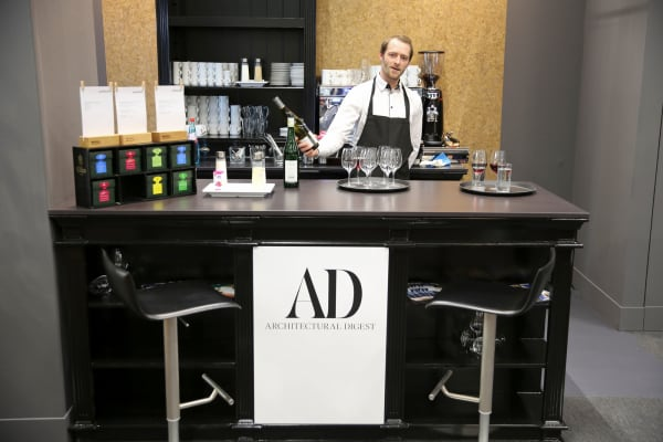 Cocktailempfang von AD auf der Frankfurter Designmesse Ambiente
