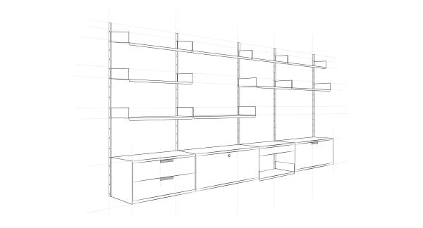 Genialer Wurf oder tödliche Langeweile? Das modulare Regalsystem von Dieter Rams, der Ikone der Guten Form.