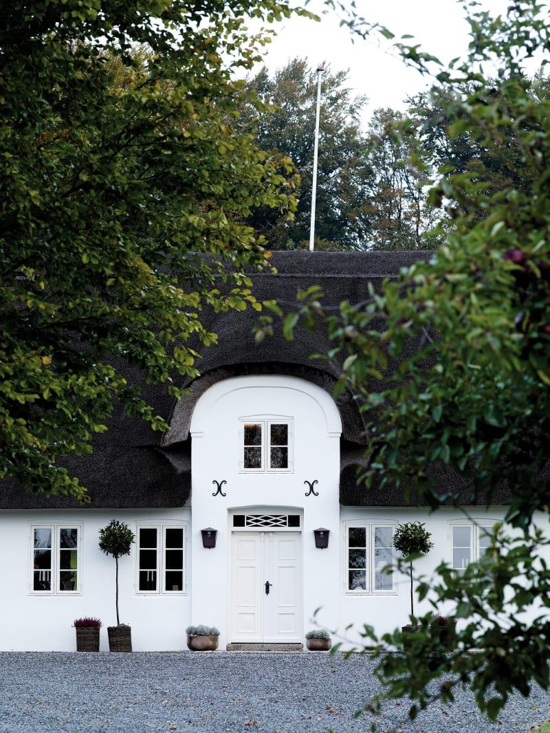 Das Dinesen Country Home in Jels, Dänemark.