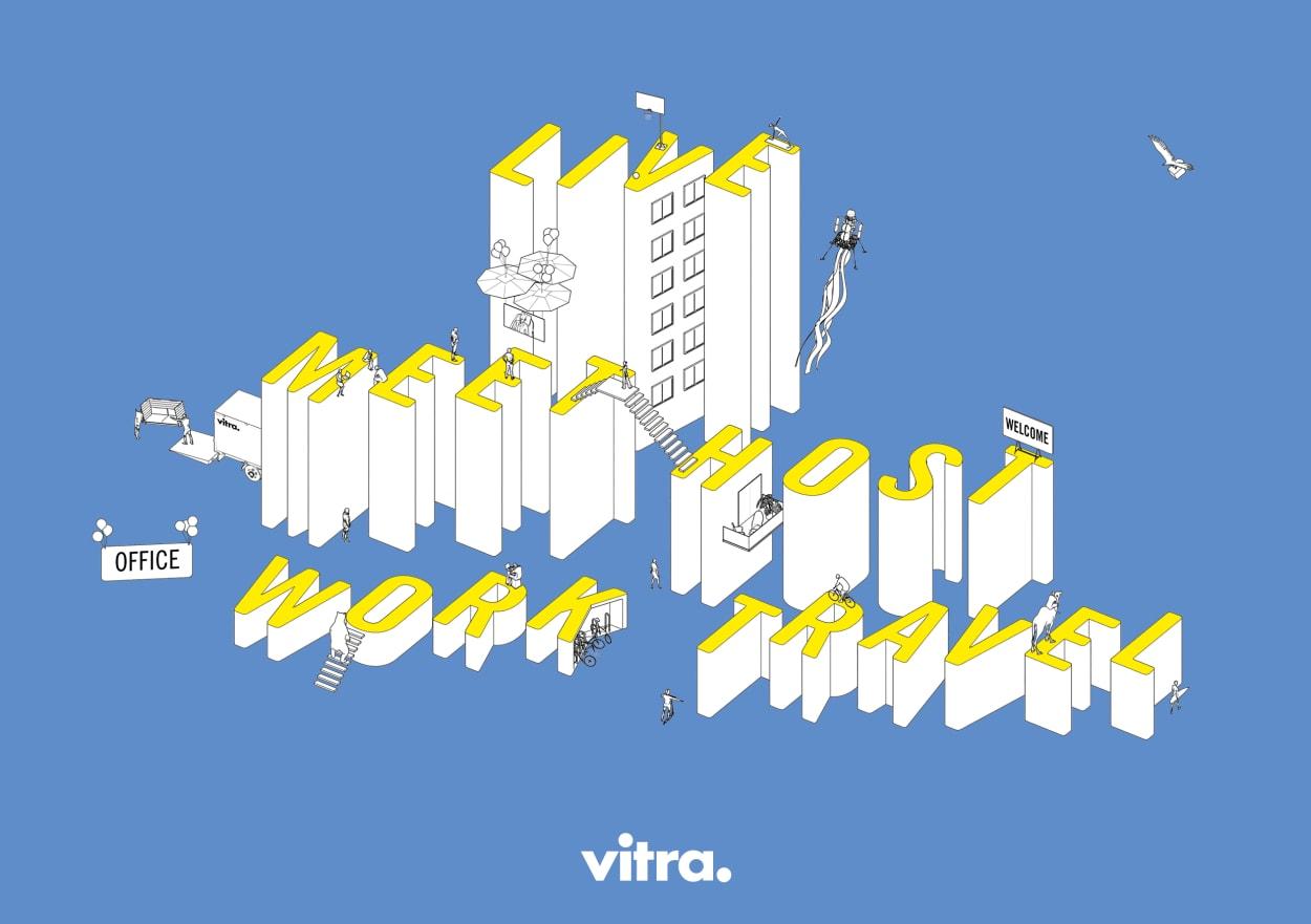 Vitra Summit 2020 zur Arbeitswelt von Morgen, zum Arbeiten in der Zukunft
