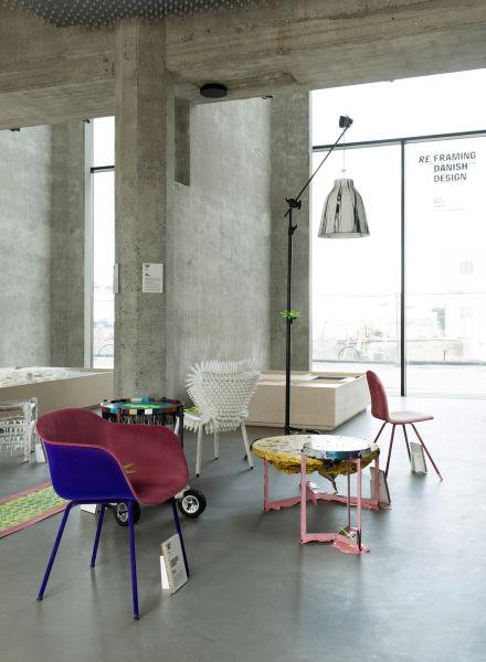 Re-Framing Danish Design, Ausstellungsansicht.
