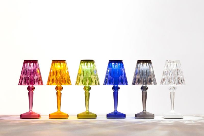 Kartell_Battery_new colours_lit up