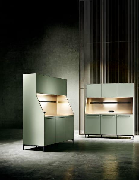 """AD Edition: Exklusiv für AD gibt es das Küchenbuffet """"SieMatic 29"""" in Salbei-Grün."""