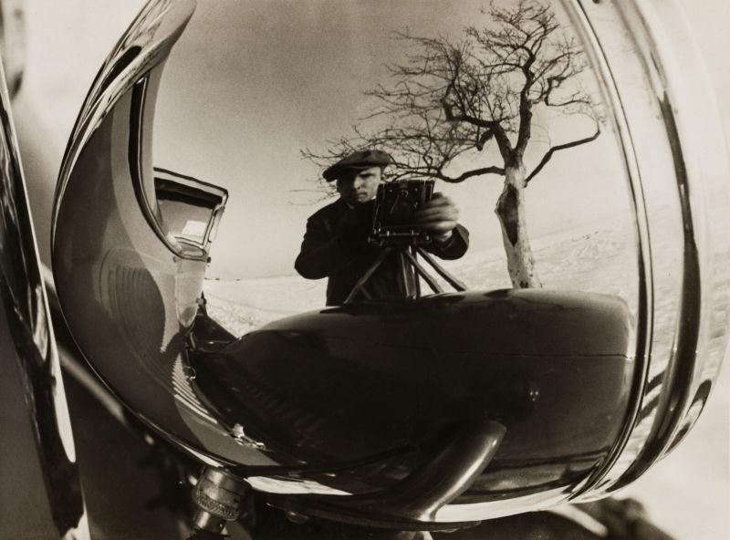 Albert Renger-Patzsch, Selbstporträt,1926/27