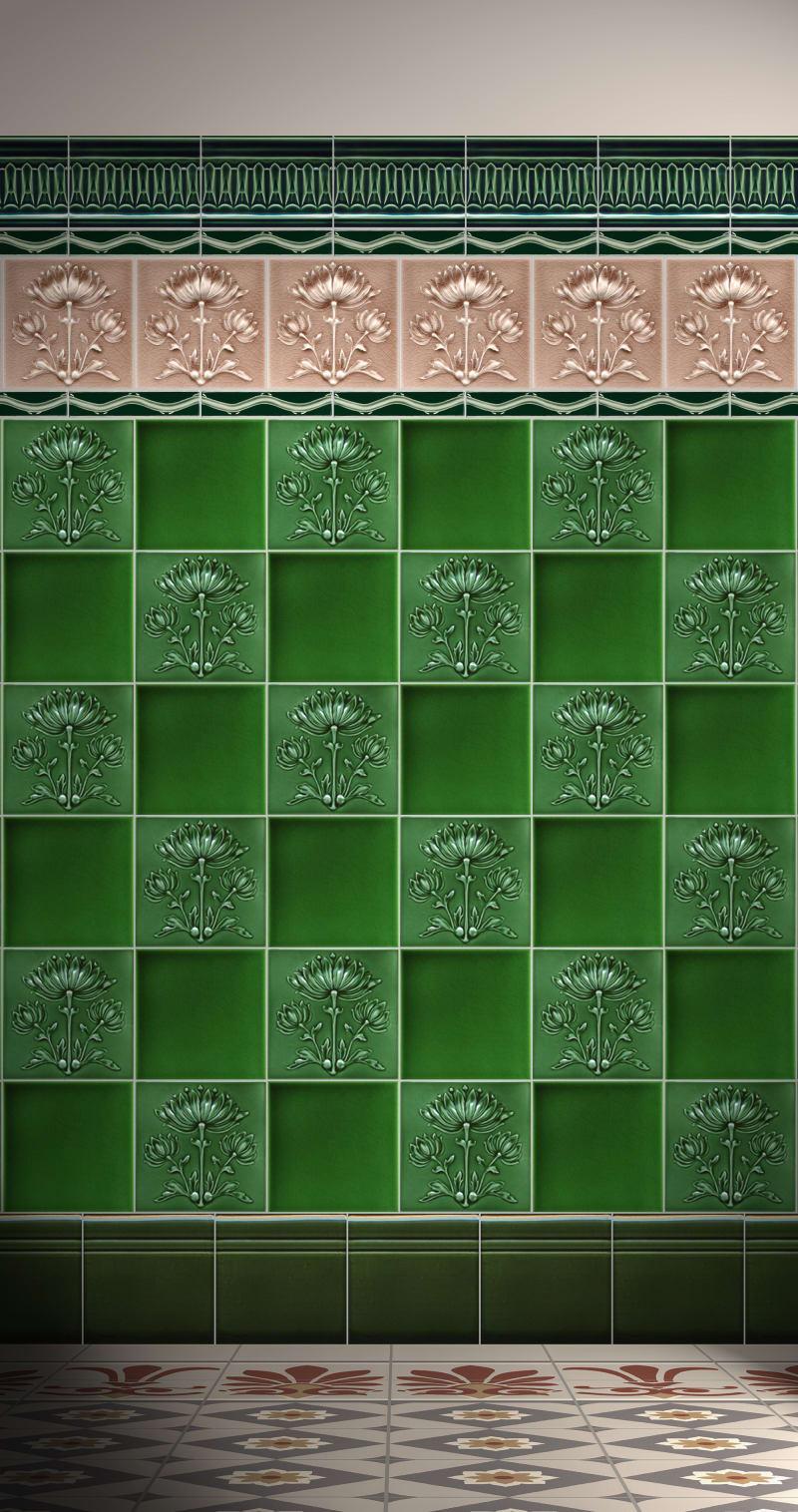 Es grünt an den Wänden
