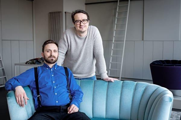 Mirza Music-Zander (links) und Mensud Bjelosevic, die beiden Gründer undInhabervon Unique FactoryBerlin.