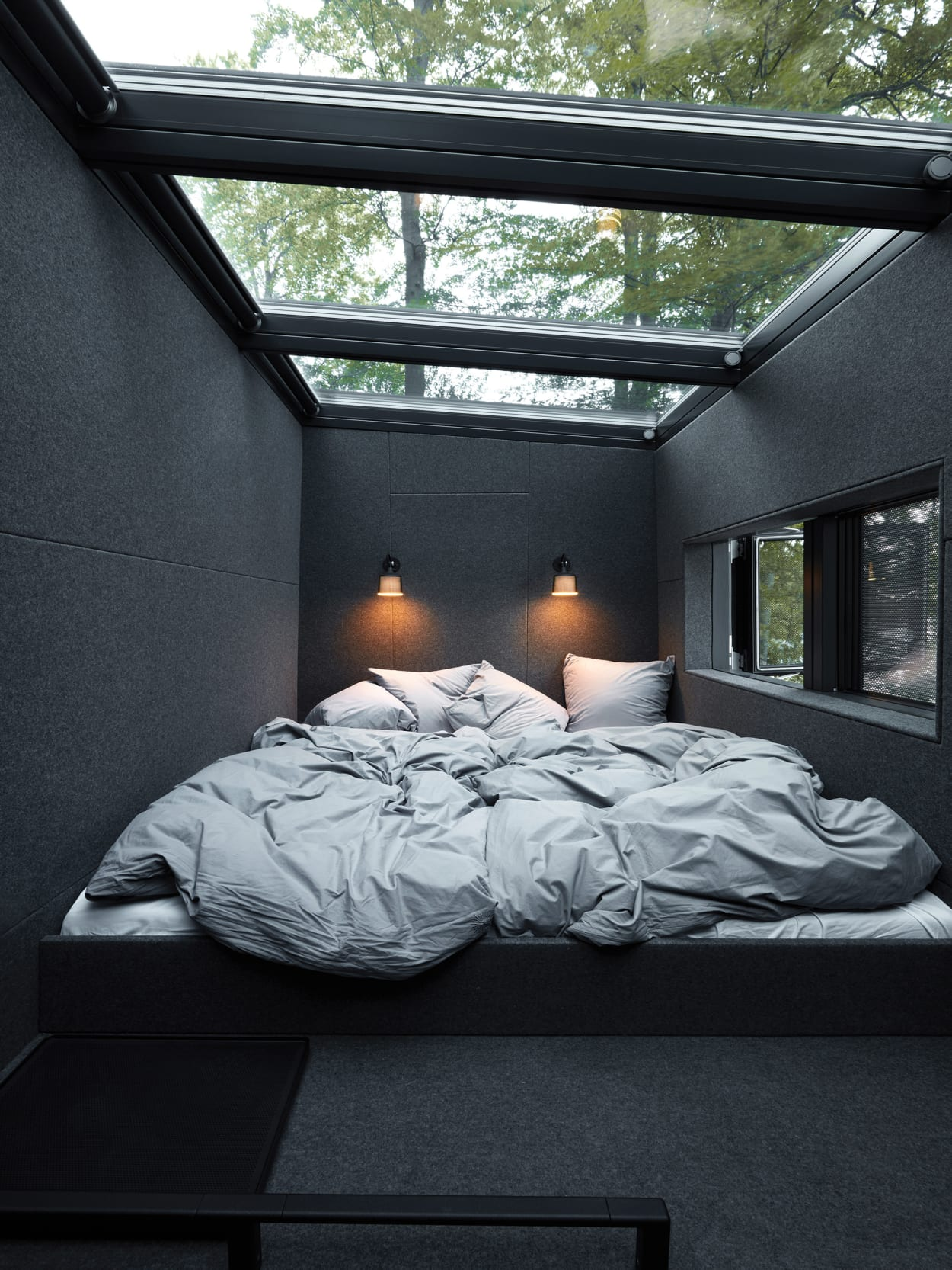 Vipp Shelter, Minihaus, schwarzes Haus, Mikro-Home