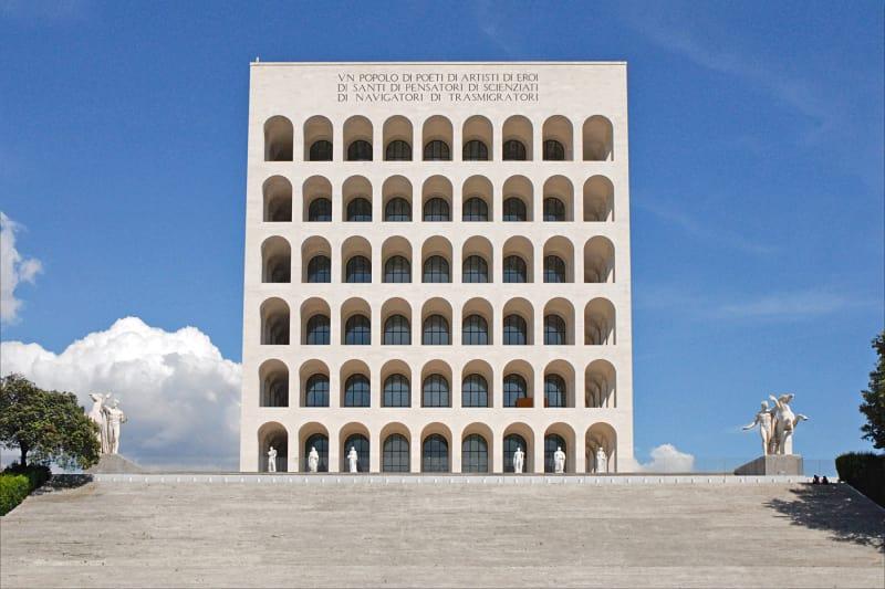 1. Fendi, Palazzo della Civiltà Italiana