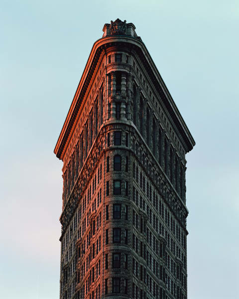 Reinhart Wolf, Flatiron Building, New York.