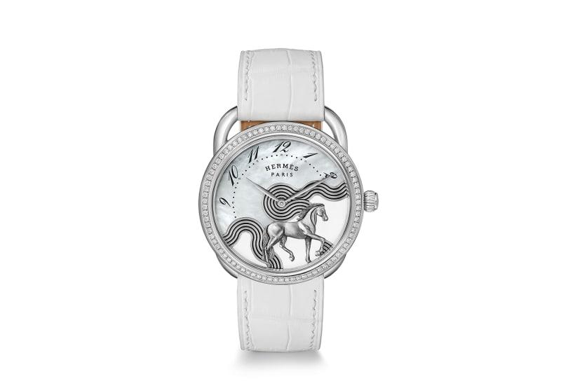 """Hermès Uhr: """"Arceau Cheval Cosmique"""""""