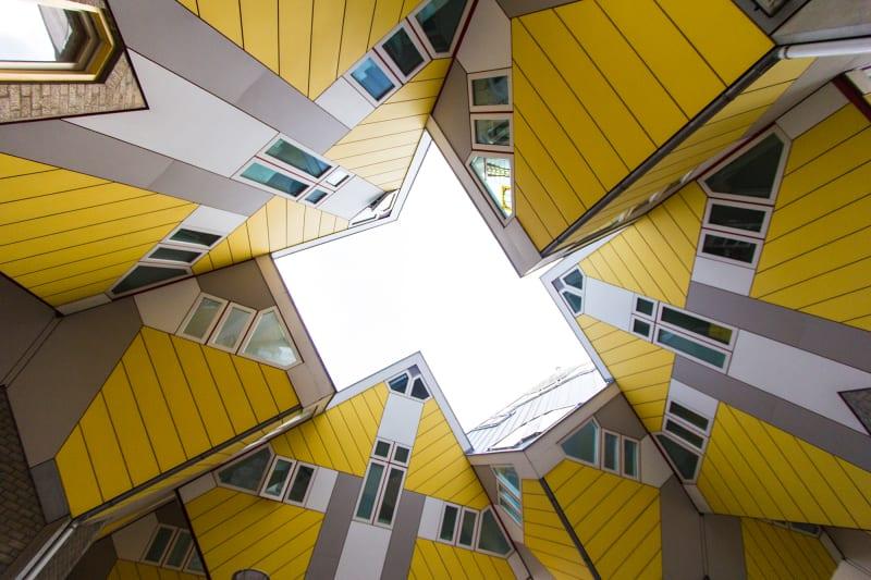 4. Kubushäuser von Piet Blom in Rotterdam