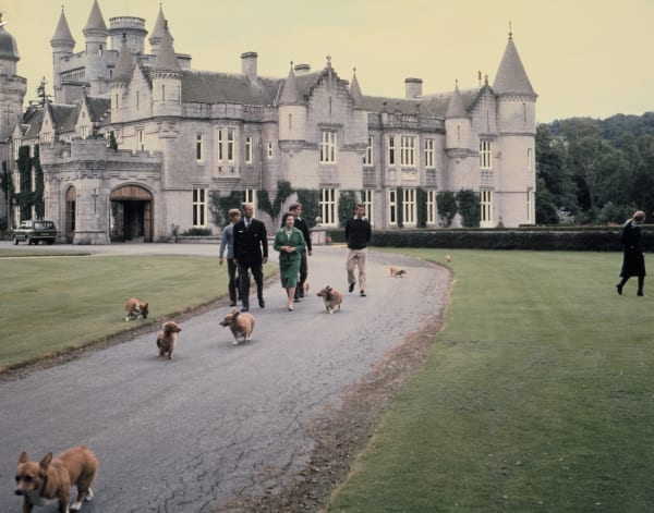 Der Garten liegt übrigens seit jeder in Prince Philips Hand, 243 Quadratmeter Garten, die der Mann der Queen verwaltet.